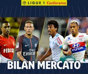 La LFP dresse le bilan du mercato estival 2017 de la Ligue 1 Conforama