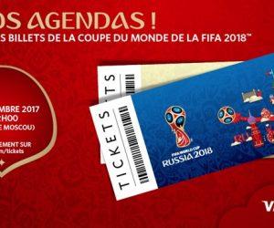 Foot – Ce que vous coûteront vos billets pour la Coupe du monde 2018 en Russie