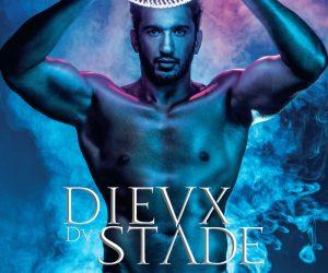 Maxime Mermoz en couverture du calendrier 2018 des DIEVX DV STADE