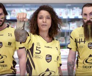 Handball – Lidl met en scène les Fans du championnat dans sa nouvelle publicité