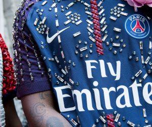 Les maillots du PSG s'invitent à la Fashion Week dans le défilé KOCHÉ
