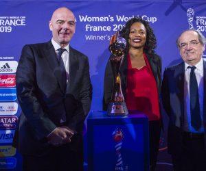 Coupe du Monde féminine de football France 2019 – L'emblème et le slogan dévoilés
