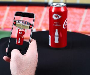 NFL – Les Chiefs offrent une expérience en réalité augmentée en partenariat avec Coca-Cola