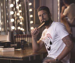 Olivier Giroud signe un contrat sponsoring barbe avec Beardilizer