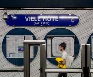 La station de métro «Hôtel de Ville» rebaptisée « Ville Hôte » pour célébrer Paris 2024