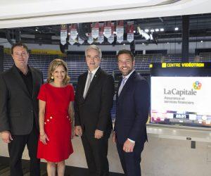 La Capitale s'offre le Naming d'une zone VIP du Centre Vidéotron à Québec