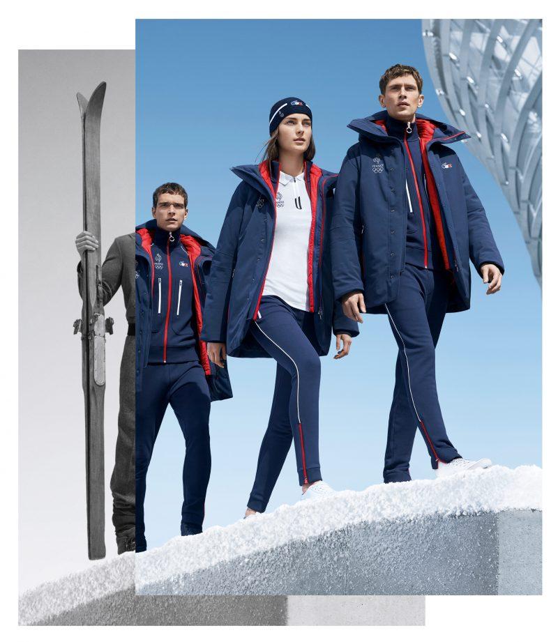pyeongchang 2018 lacoste d voile les tenues officielles de l 39 equipe de france olympique. Black Bedroom Furniture Sets. Home Design Ideas