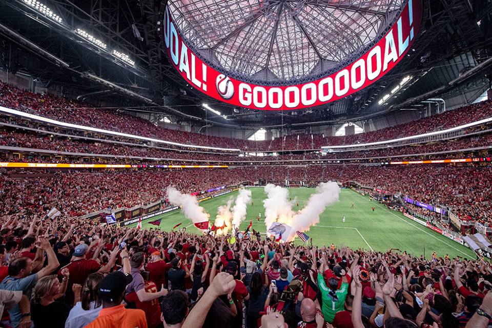 Mercedes Benz Atlanta >> La Major League Soccer (MLS) enregistre de nouveaux ...