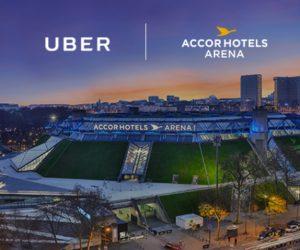 Uber devient Partenaire Officiel de l'AccorHotels Arena