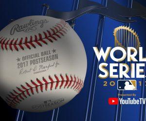 YouTube s'associe à la MLB et les World Series 2017 pour promouvoir YouTube TV