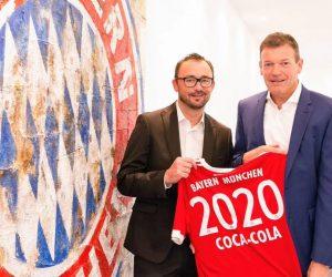 Coca-Cola partenaire officiel du Bayern Munich jusqu'en 2020