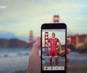 Le Bayern Munich offre une expérience en Réalité Augmentée sur son application
