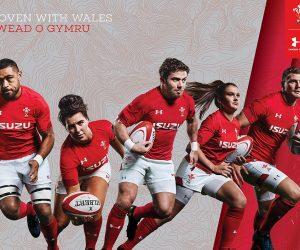 Rugby – Le Pays de Galles présente son nouveau maillot Under Armour désormais floqué Isuzu