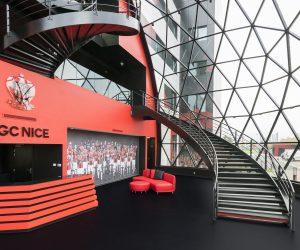 Le nouveau centre d'entraînement et de formation de l'OGC Nice se dévoile