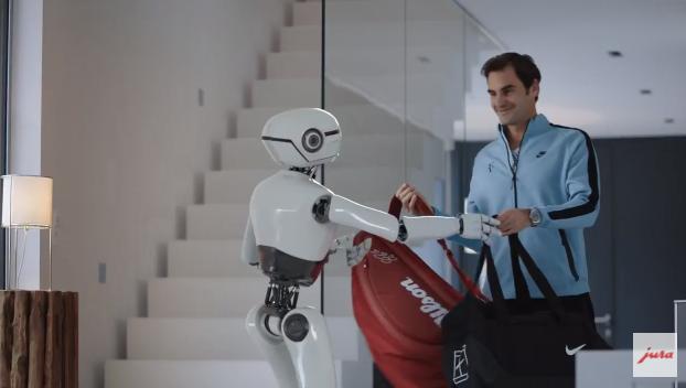 Roger Federer Dans La Derni 232 Re Publicit 233 Des Machines 224