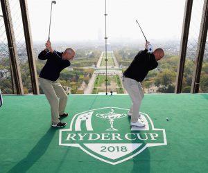 La Ryder Cup 2018 en opération séduction à Paris