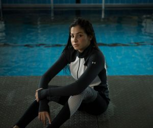 Under Armour signe avec la nageuse syrienne Yusra Mardini