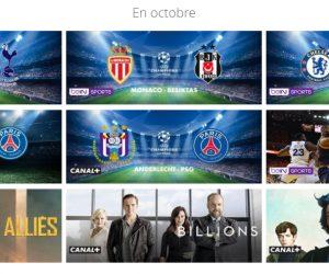 Bon Plan – Canal+ et les Chaînes Sport en Vente Flash jusqu'au 19 octobre 2017