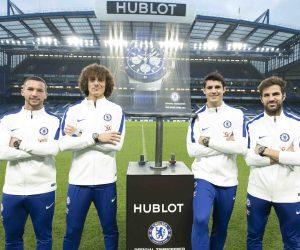 Hublot et Chelsea FC sortent une seconde montre vendue au prix de 15 500€