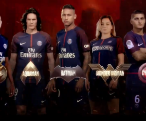 Le PSG s'associe à Warner Bros France et le film Justice League