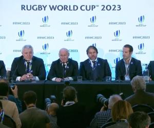 La France obtient l'organisation de la Coupe du Monde de Rugby 2023