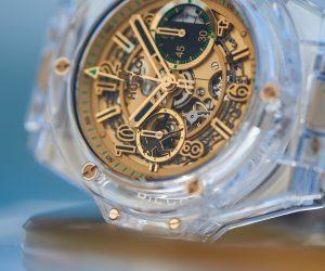 130 000€ – Le prix de la montre Hublot «Unico Sapphire Usain Bolt» vendue aux enchères