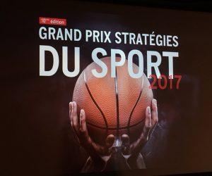 Retour sur le Palmarès du Grand Prix Stratégies du Sport 2017