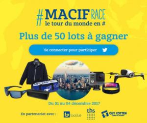 La «Macif Race» revient sur Twitter pour un Tour du Monde en #