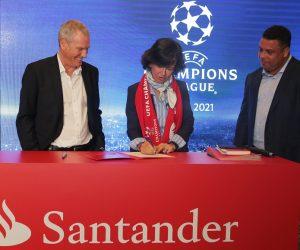Santander nouveau sponsor de l'UEFA Champions League sur 2018-2021