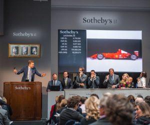 F1 – Une Ferrari pilotée par Michael Schumacher en 2001 vendue aux enchères à 7,5M$