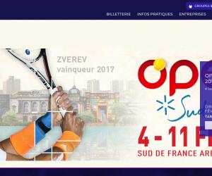 Le site officiel de la Sud de France Arena de Montpellier fait peau neuve