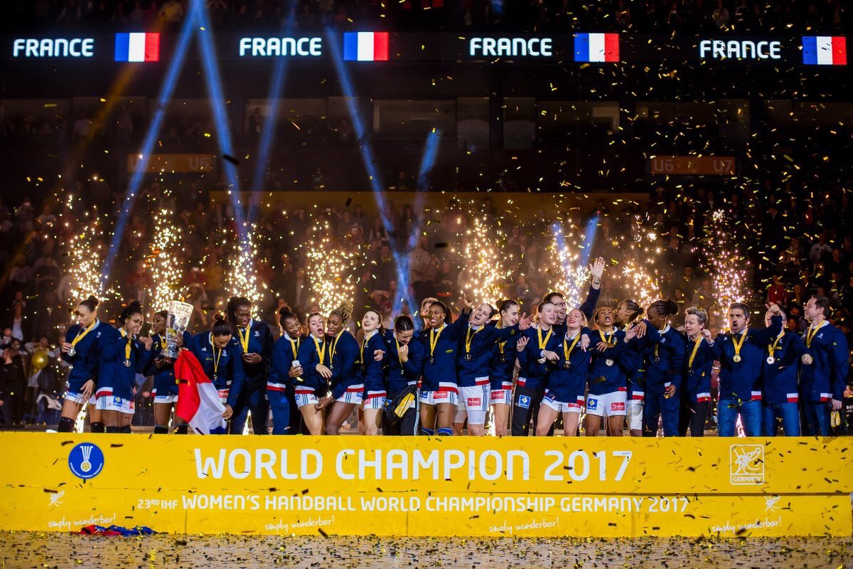 Championnat du monde de handball f minin une belle - Resultat coupe de france handball feminin ...