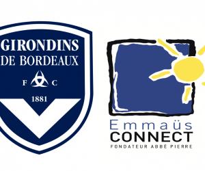 Les Girondins de Bordeaux mettent en avant Emmaüs Connect pour la réception de Strasbourg