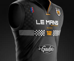 Des maillots d'équipes de Pro A et Pro B redessinés par Romuald Coustre (What If)