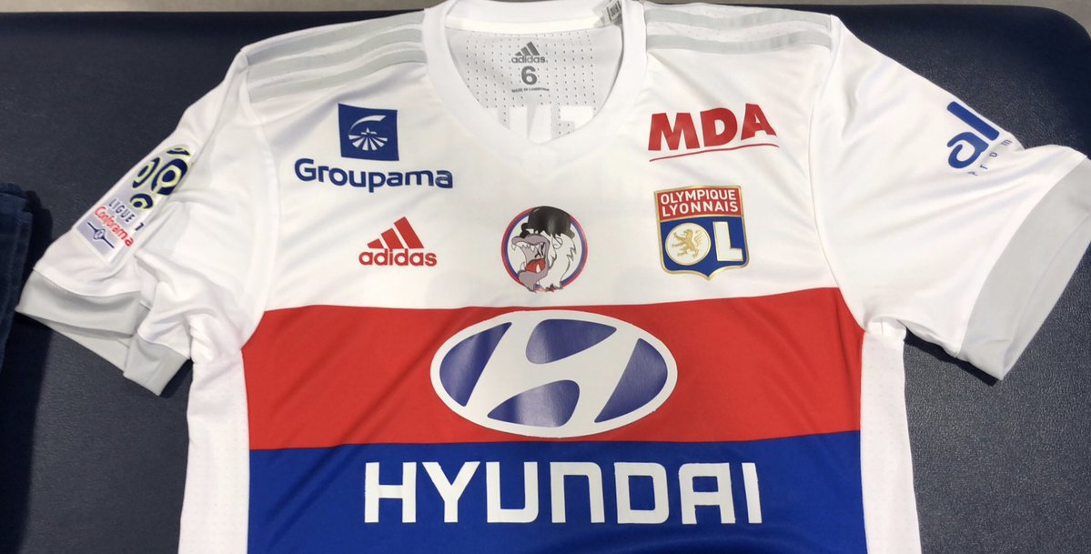 Maillot Olympique Lyonnais prix
