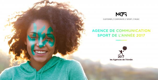 MKTG désignée «Agence de communication Sport de l'année 2017»