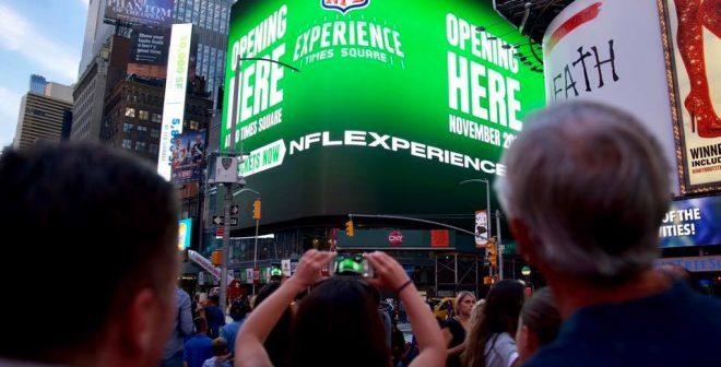 «NFL Experience» a ouvert ses portes en plein cœur de New York (et ça à l'air dingue !)