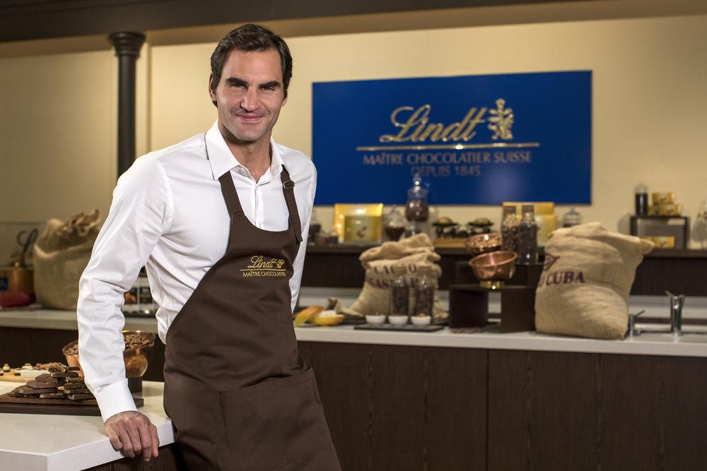 Roger Federer et Lindt prolongent l'aventure