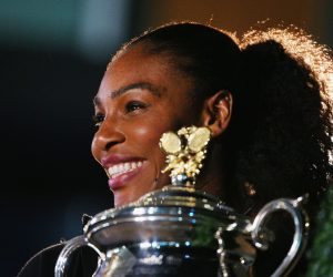 Serena Williams ambassadrice AccorHotels à l'occasion de l'Open d'Australie 2018