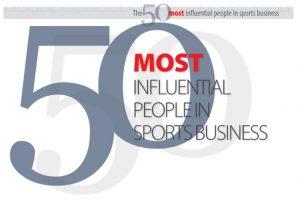 TOP 50 des personnalités les plus influentes du Sport Business en 2017