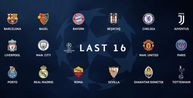 UEFA Champions League : 3 équipementiers se partagent les 16 clubs qualifiés pour les huitièmes
