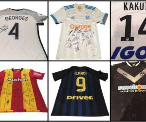 Football – Des clubs et joueurs soutiennent «Play International» en mettant aux enchères des maillots dédicacés
