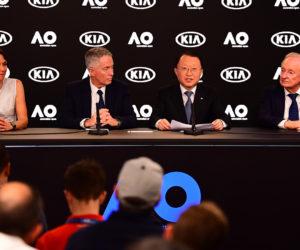 Kia Motors partenaire de l'Open d'Australie jusqu'en 2023