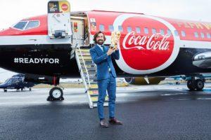 Le Trophée de la Coupe du Monde de Football en France aujourd'hui et demain (20 et 21 mars) avec Coca-Cola