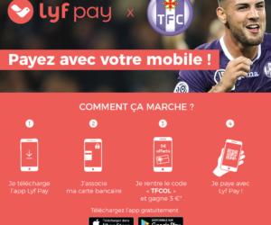 Le TFC opte pour la solution de paiement mobile Lyf Pay