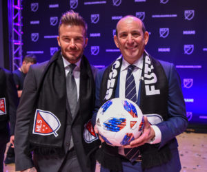 La MLS et David Beckham officialisent l'arrivée d'une franchise à Miami