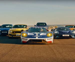 Brand Content – Ford met en scène 8 véhicules dans une course épique