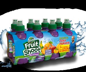 Tony Parker nouvel ambassadeur de la boisson pour enfants «Fruit Shoot»