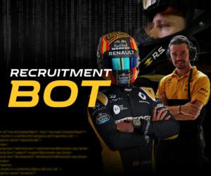 F1 – Renault recrute de nouveaux talents via un chatbot Facebook