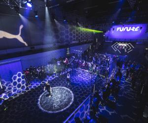Puma fait le show avec 500 fans de foot dans un bunker londonien